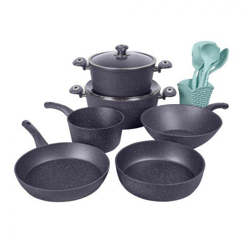 Des Chef Cooking Set, 15 Pieces, GL Blue
