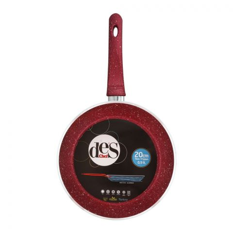 Des Chef Fry Pan, 20cm, Red