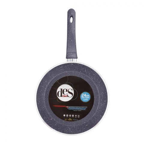 Des Chef Fry Pan, 24cm, Blue