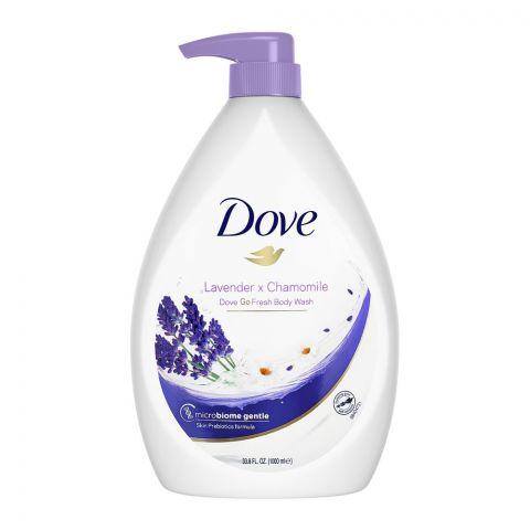 Dove So Fresh Lavender + Chamomile Body Wash, 1000ml