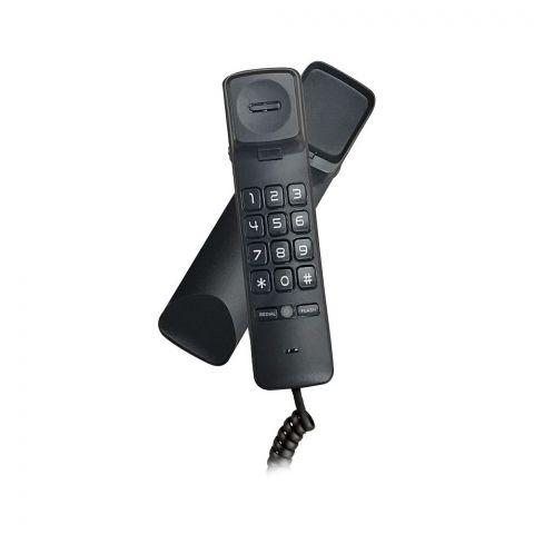 Uniden Trimline Caller ID Landline  Phone, Black, CE8102