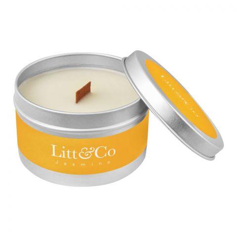 Litt & Co Jasmine Fragranced Candle
