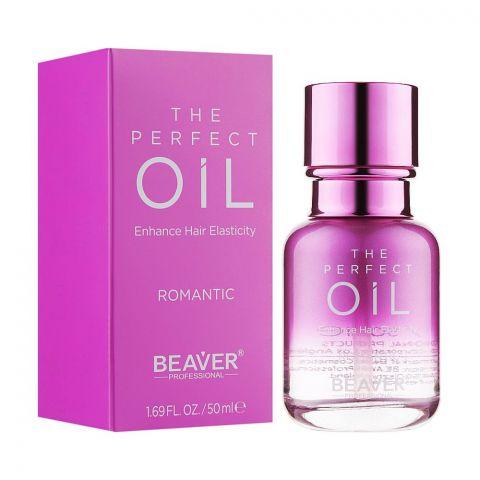 Beaver The Perfect Romantic Enhance Hair Elasticity Oil, 50ml