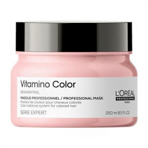 L'Oreal Professionnel Serie Expert Resveratrol Vitamino Color Hair Mask, 250ml