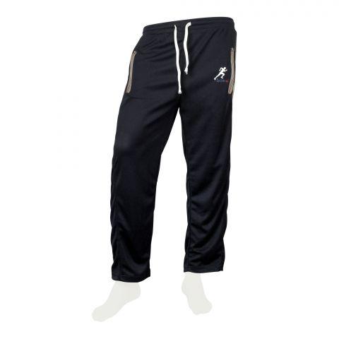 Basix Men's Jogging Fashion Mesh Trouser, Graphite Grey, JT-703
