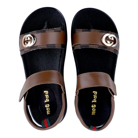 Kid's Sandals, For Girls, Brown, 228-51