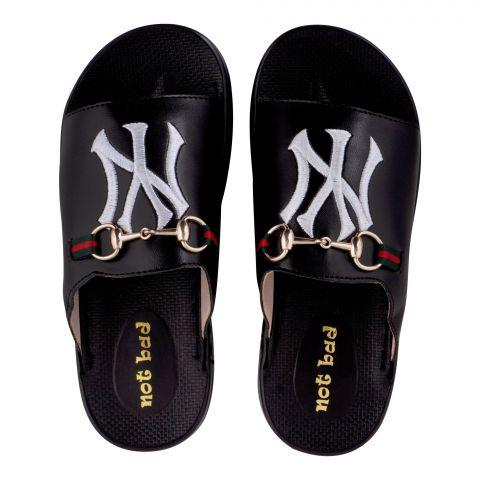 Kid's Slippers, For Girls, Black, 228-45