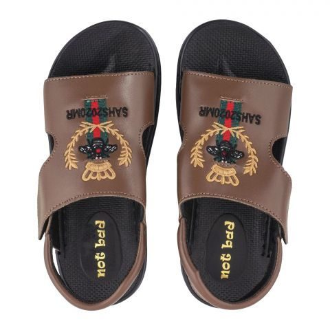 Kid's Sandals, For Boys, Brown, 228-50