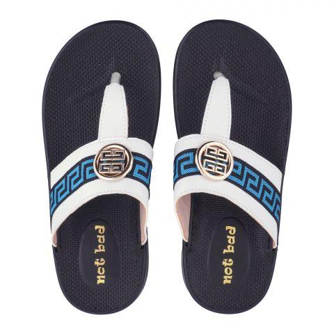 Kid's Slippers, For Girls, White, 228-38