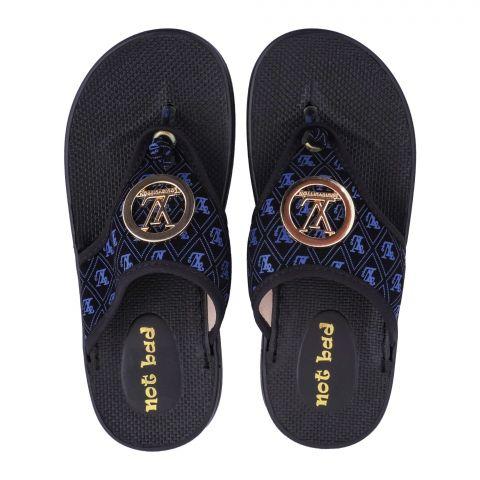 Kid's Slippers, For Girls, 228-17 Blue