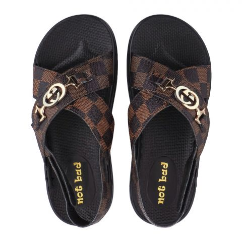 Kid's Sandals, For Boys, Brown, 228-49