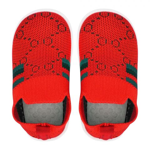 Kid's Shoes, For Boys, Red, 530