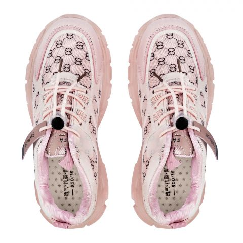 Kid's Shoes, For Girls, Pink, 2021-8