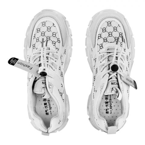 Kid's Shoes, For Boys, White, 2021-8