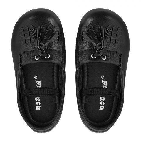 Kid's Shoes, For Girls, Black, A-16