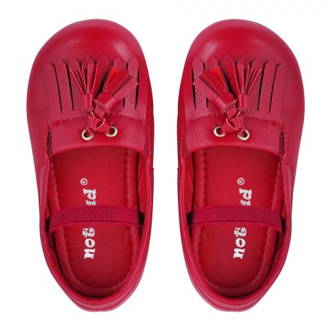 Kid's Shoes, For Girls, Red, A-16