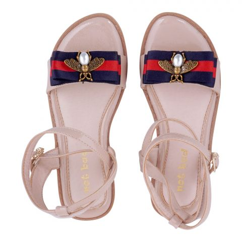 Kid's Sandals, For Girls, Apricot, AK-53