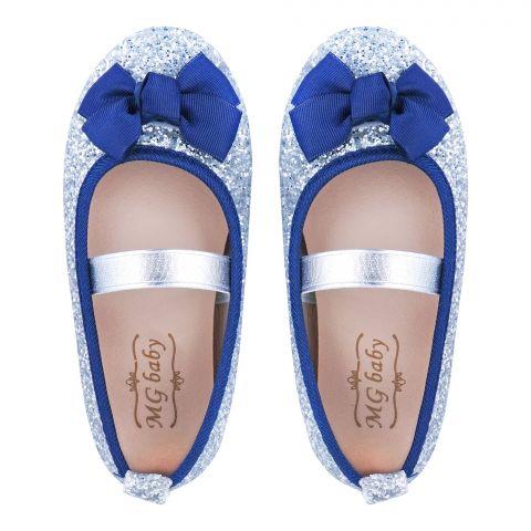 Kid's Shoes, For Girls, Blue, V-373