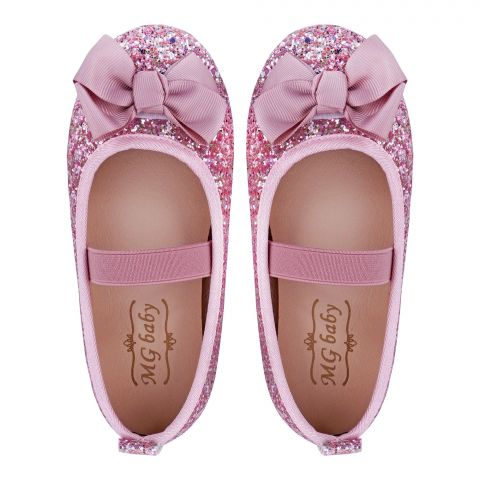 Kid's Shoes, For Girls, Pink, V-373