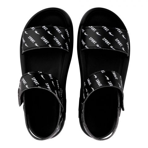 Kid's Sandals, For Boys Black, A-01