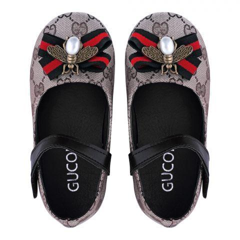 Kid's Sandals, For Girls, Grey, V-912