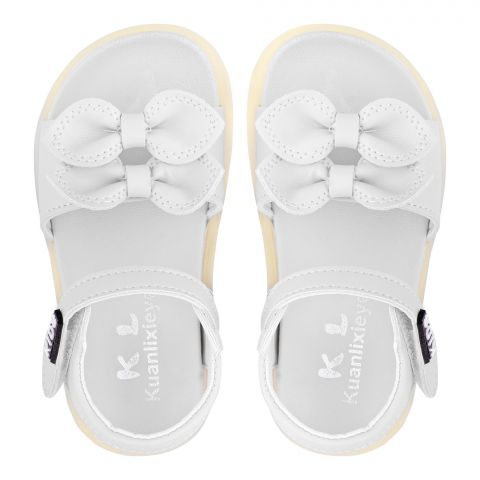 Kid's Sandals, For Girls, White, A1-1
