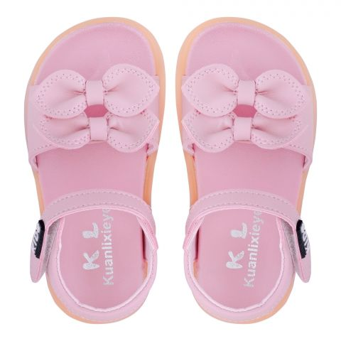 Kid's Sandals, For Girls, Pink, A1-1