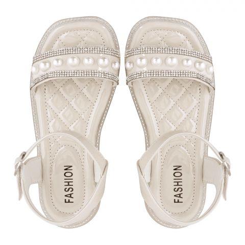 Kid's Sandals, For Girls Beige, 2116