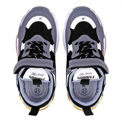 Kid's Shoes, For Boys, Grey, NB-8