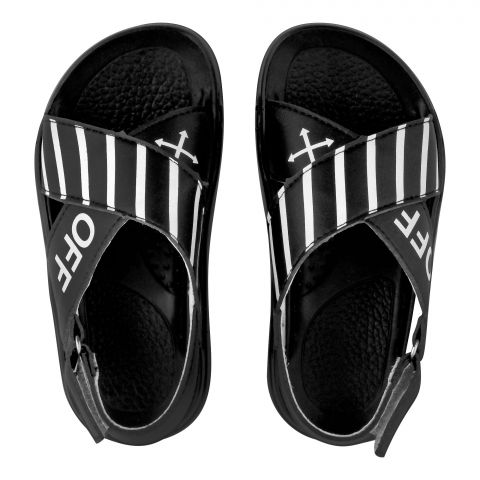 Kid's Sandals, For Boys, Black, A-7777