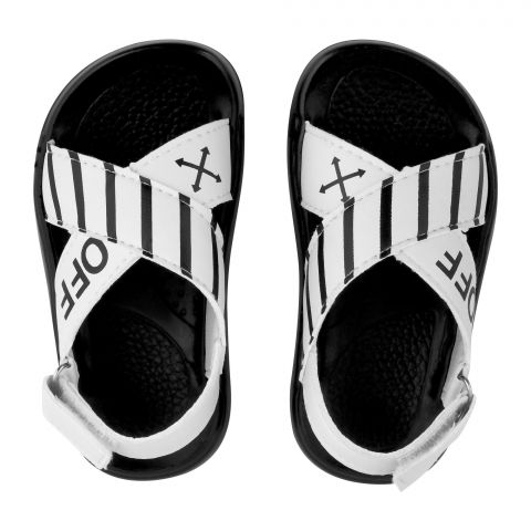 Kid's Sandals, For Boys, White, A-7777