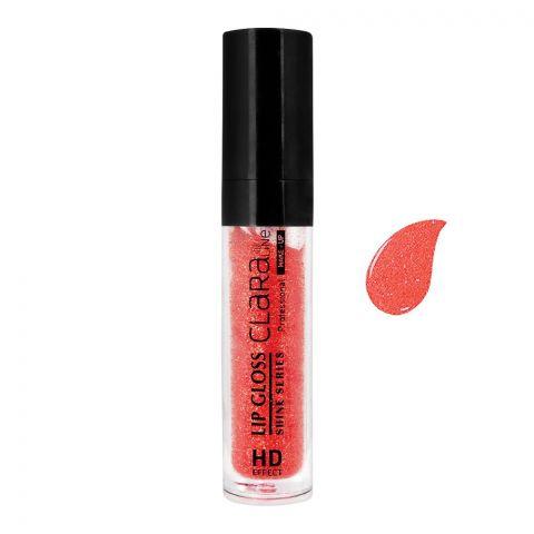 Claraline Professional Shine Series Lip Gloss, HD Effect, 09
