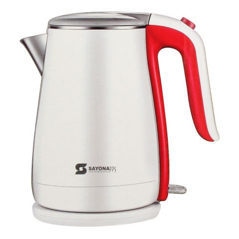 Sayona Electric Kettle, 1.7L, 1500W, SK-4428