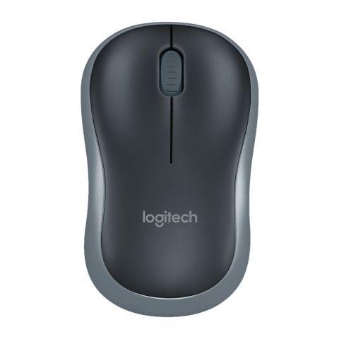 Logitech Wireless Mouse, Black, M185
