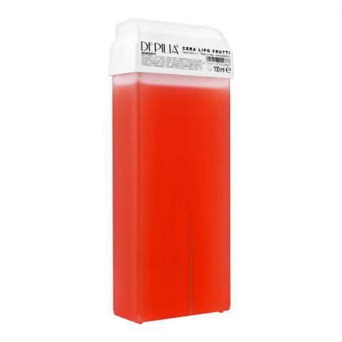 Depilia Soft Fruit 1.15 Lipo Roll-On Wax, 100ml