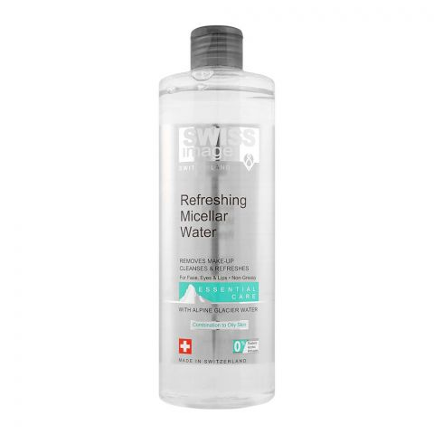 Swiss Image Essential Care Refreshing Micellar Water, Combination To Oily Skin, 400ml