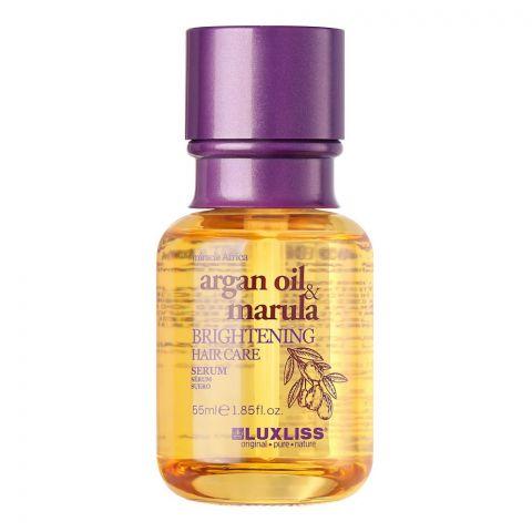 Beaver Luxliss Miracle Africa Argan Oil & Marula Brightening Hair Care Serum, Paraben & Sulfate Free, 50ml