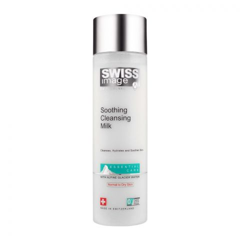 Swiss Image Essential Soothing Cleansing Milk, Normal To Dry Skin, 200ml