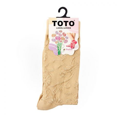 Toto Women's Socks, Skin