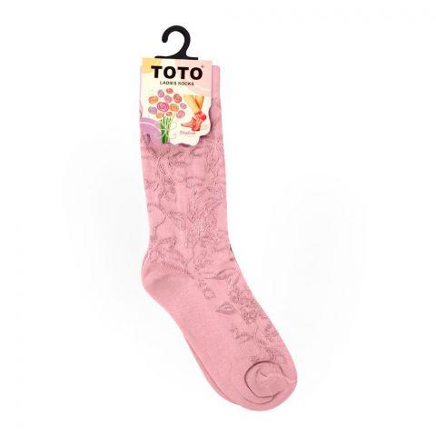 Toto Women's Socks, Pink