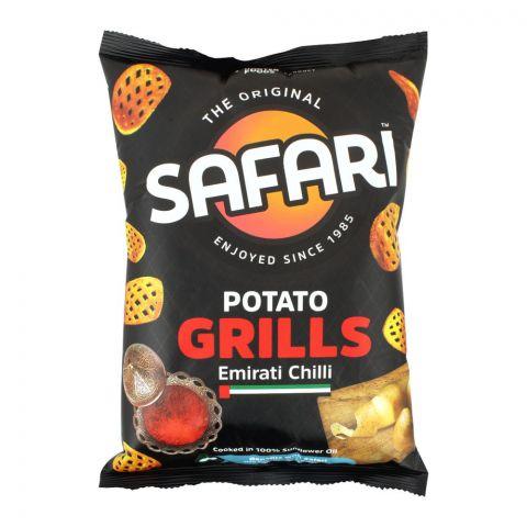 Safari Potato Grills Emirati Chilli Chips, 60g