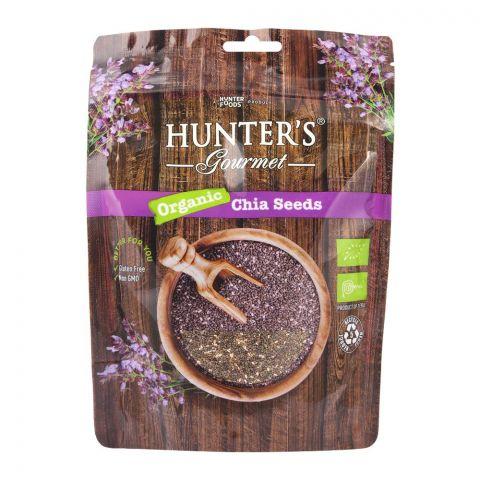 Hunter's Gourmet Organic Chia Seeds, 300g