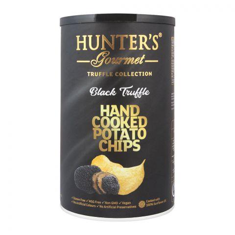 Hunter's Gourmet Black Truffle Hand Cooked Potato Chips, 150g