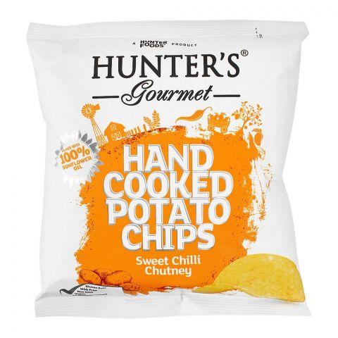Hunter's Gourmet Sweet Chilli Chutney Hand Cooked Potato Chips, 40g