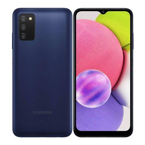 Samsung Galaxy A03S 3GB/32GB Smartphone, Blue, SM-A037F/DS