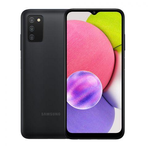 Samsung Galaxy A03S 3GB/32GB Smartphone, Black, SM-A037F/DS