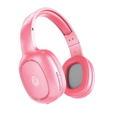Sonic Ear Airphone 3 On Ear Bluetooh Wireless Headphones, Peach