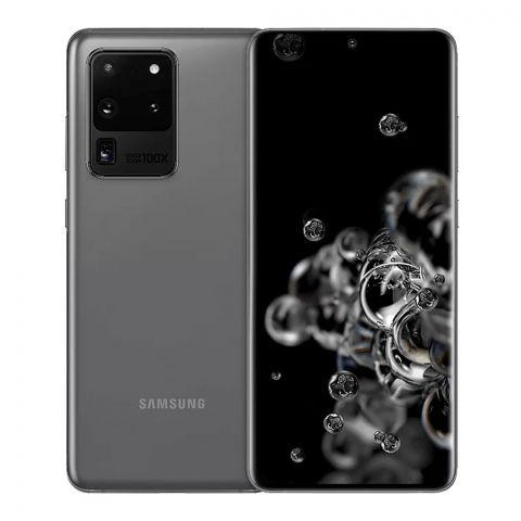 Samsung Galaxy S20 Ultra 12GB/128GB Smartphone, Cosmic Gray, G988/DS