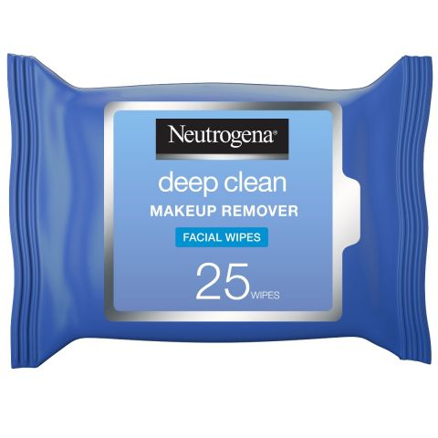 Neutrogena Deep Clean Make-Up Remover Facial Wipes, 25 Wipes