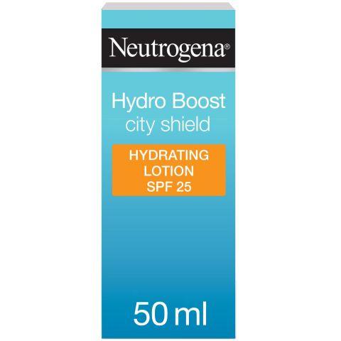 Neutrogena Hydro Boost City Shield Hydrating Lotion, SPF 25, 50ml